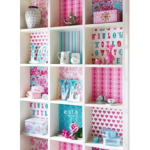 Esta home collection love panneaux muraux