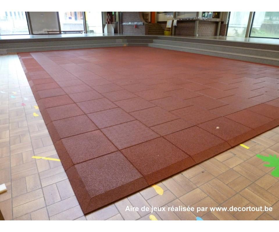 Dalles de s curit pour aires de jeux for Dalle sol interieur