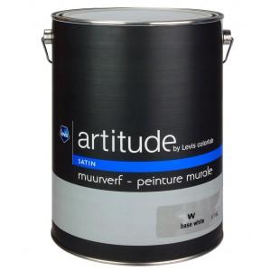 Lv artitude peinture murale satin 5l d cor 39 tout for Peinture acrylique murale satinee