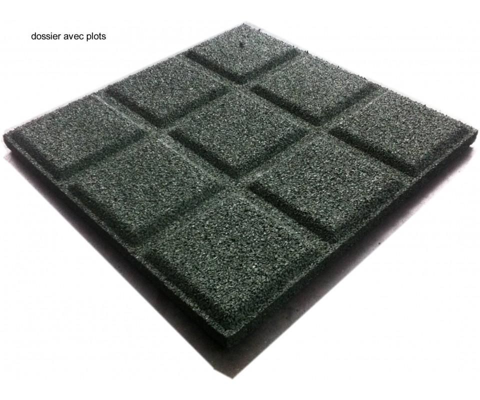 dalles de sol caoutchouc. Black Bedroom Furniture Sets. Home Design Ideas