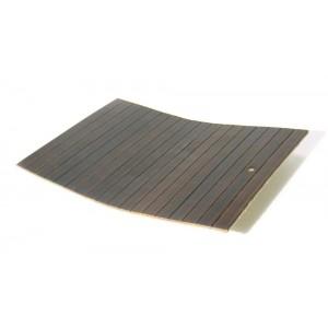 Bambou huilé brun foncé