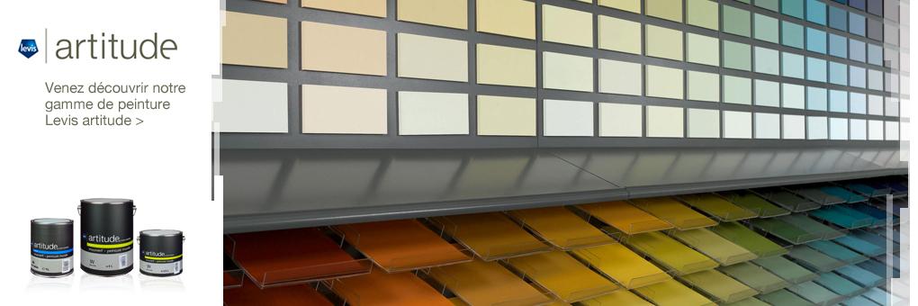 Artitude, gamme de peinture de la marque Levis.